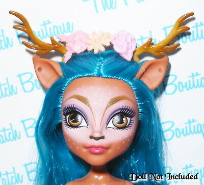 Monster High Ever After High Doll Size Replacement Antlers Gr84 Isi Dawndancer