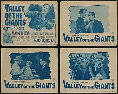 VALLEY OF THE GIANTS Claire Trevor  ORIGINAL 1948  8 MOVIE LC LOBBY CARD SET 1