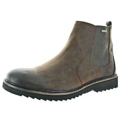 Geox Chester Amphibiox Men's Leather Chelsea Gore Waterproof Boots