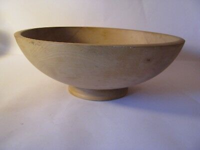 Vintage Robinhood Ware Large Wood Dough Or Fruit Bowl