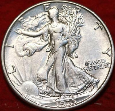 1935-D Denver Mint Silver Walking Liberty Half