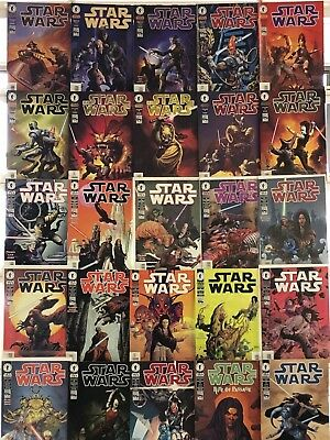 Star Wars Comics Huge Lot 25 Comic Collection Book Set Run Box 1
