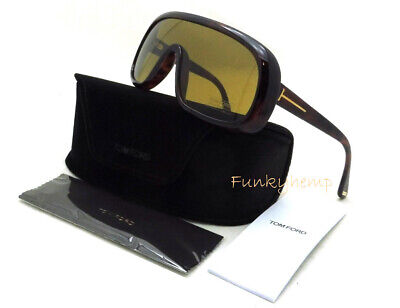6aab20333a377 AUTHENTIC Tom Ford TF0570 Stephanie 02 Aviator Silver Blue Gradient  Sunglasses