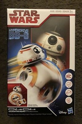 Star Wars Hyperdrive BB-8 Remoted Controlled Robot Brand New Last Jedi