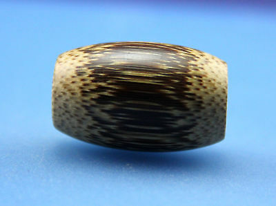 30*19 mm Antique Dzi bamboo old Bead from Tibet **Free shipping**