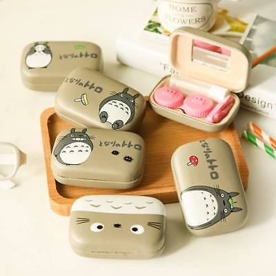 Mini Contact Lens Travel Case Pocket Storage Holder Soaking Container Holder