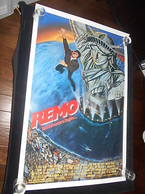 Remo The Adventure Begins Original Rolled One Sheet Poster  Fred Ward