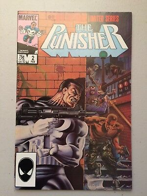 Punisher Limited Series #2 (1986) NM 9.4 - 1ST ANGELA (Assassin) - NO RESERVE