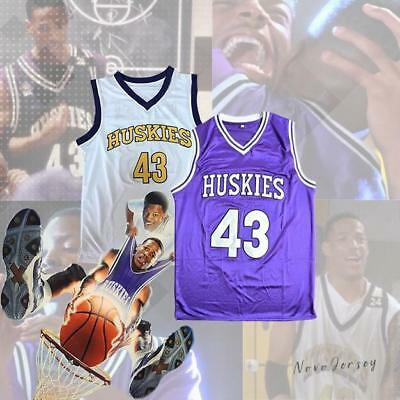 bb6869291d1 KENNY TYLER  43 Huskies Basketball Stitched Throwback Jersey The 6th ...