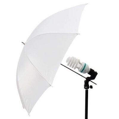 "33"" Soft White Umbrella Translucent Diffuser for Photo Studio Lighting Stand Kit"
