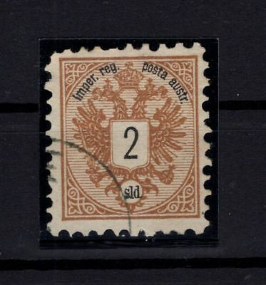 P86550/ Turkey - Austrian Post Offices / Sg # 14 Obl / Used 335 €