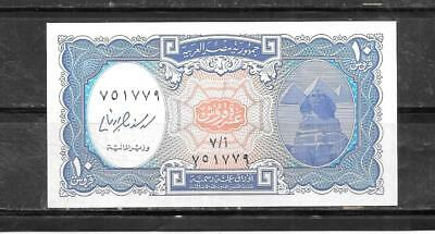 EGYPT #189b UNC 10 PAISTRES BANKNOTE PAPER MONEY CURRENCY BILL NOTE