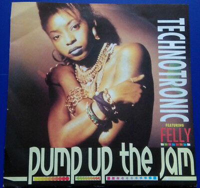 """Technotronic feat. Felly: Pump Up The Jam, Single 7"""", 1989"""