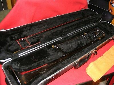 FE OLDS AND SON TENOR TROMBONE W/ SKB Case