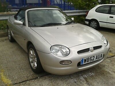 Lovely MGF.  Good project.  Please read MOT failure details.