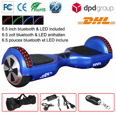 SUPERTEFF SP 6.5  electric scooters Bluetooth speakers smart self balancing
