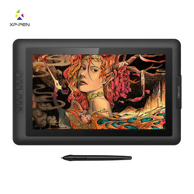 XP-PEN Artist15.6 IPS Drawing Graphics Tablet Monitor Pen Display 8192 Levels