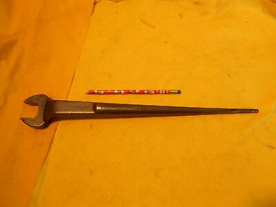 PROTO USA C908 IRONWORKER SPUD WRENCH structural steel erection 1 1/4""