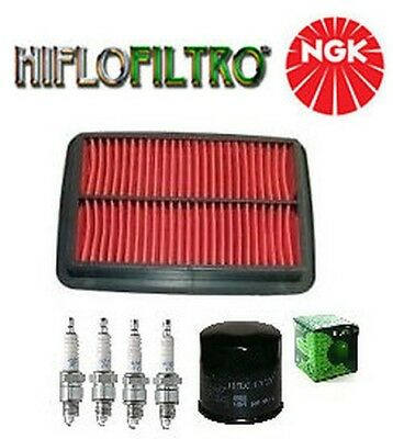 Maintenance Kit Revision Suzuki GSF Bandit 650 07 2008 air filter oil spark plug