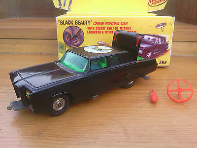 Corgi 268 Green Hornet, 'black Beauty' & Box - Superb!
