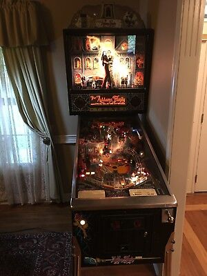 Bally Addams family pinball machine. Excellent cond.
