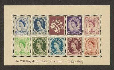 GB Stamps: Wilding Definitives Miniature Sheet MS 2367.