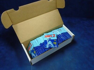 1978 Jaws 2 Lot Of 36 Packs From Fun Bags Clean *122097