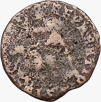 CONSTANTIUS II Constantine the Great son Ancient Roman Coin Battle Horse i42906