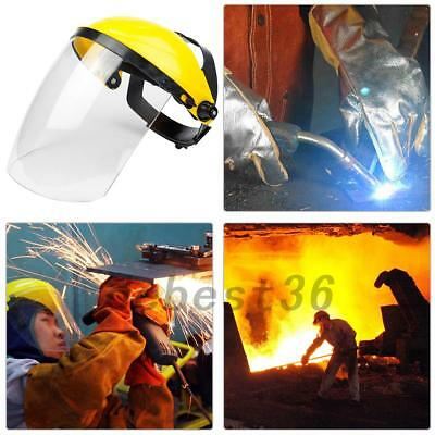 Safety Mask Clear Full Face Protect Shield Visor Mask Eye Protection Mask