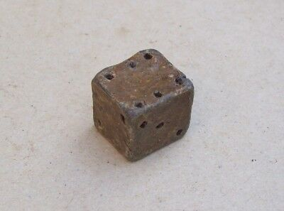 Medieval Lead Dice Metal Detecting Find