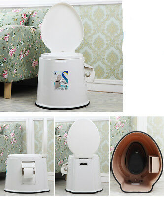A05 Outdoor Indoor Portable Toilet Pedestal Pan Camping RV Caravan Parts M