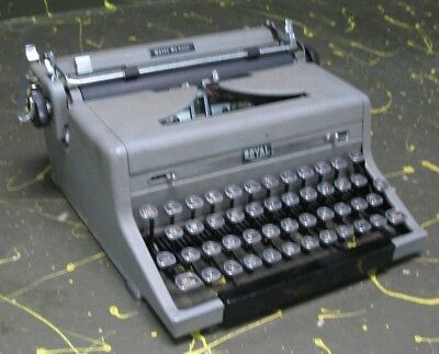 Royal Quiet Deluxe Portable typewriter works perfectly!