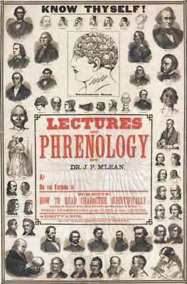 1870 S. R. Wells and M'Lean Phrenology Broadsheet Poster