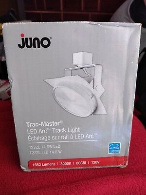 Juno Trac-Master T272L Arc 15W LED Dimmable Track Light
