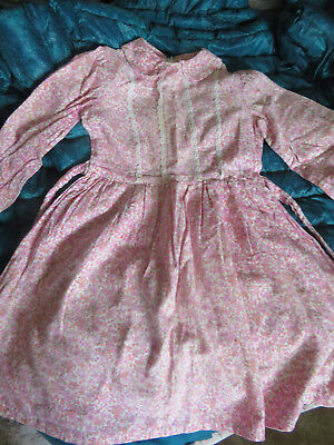 "Vintage dress age 4 - 5yrs. (1960's)  26"" long 25"" chest."