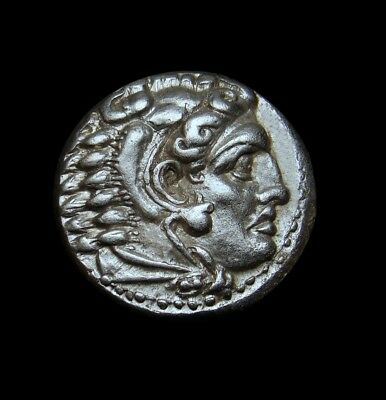 Alexander The Great Lifetime Drachm.Masterpiece MS⭐️Very Rare Ancient Greek Coin