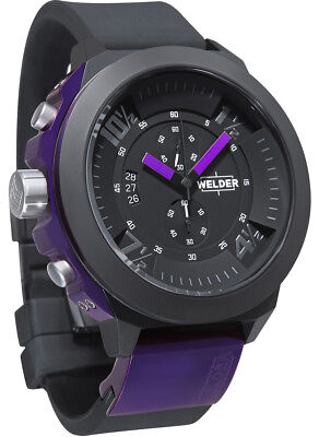 Welder by U-Boat K33 Chronograph Black Ion-plated Mens Sport Watch K33-9303