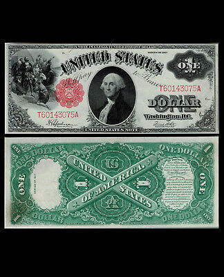 287-UNITED STATES. $ 1. 1917. One Dollar. FR # 39. Series of 1917. Choice UNC.