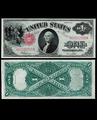 288-UNITED STATES. $ 1. 1917. One Dollar. FR # 39. Series of 1917. Choice UNC.