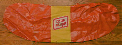 Collectible Oscar Mayer Inflatable Hot Dog - Apprx  3 Ft Long When Inflated