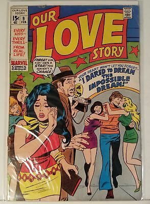 Our Love Story # 9 - Marvel Comics - Feb. 1971