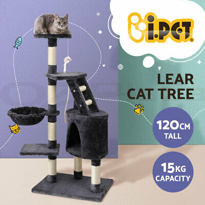 i.Pet Cat Tree Scratching Post Scratcher Pole Toy House Furniture Multi Level
