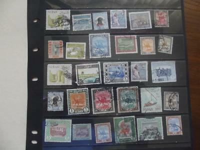 SELECTION OF STAMPS  pack A3