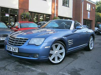 2004 04-Reg Chrysler Crossfire 3.2 auto Roadster,STUNNING COND,HEATED LEATHER!!!