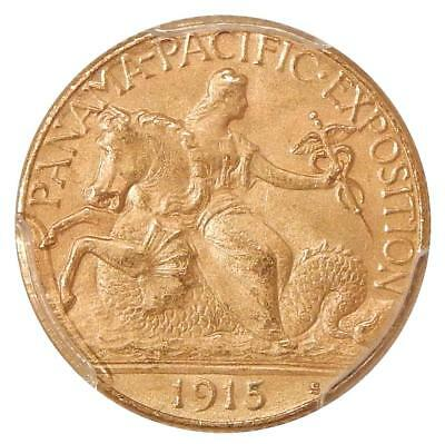 1915-S $2.50 Pan-Pac Pcgs Ms-63 ~ Nice Commemorative Gold Quarter Eagle