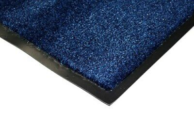 Polyamide Heavy Duty Entrance Door Floor Mat 60 x 90cm Blue, S4NS#