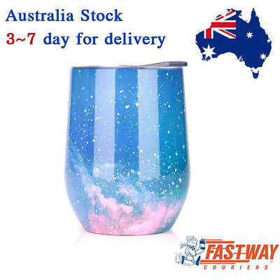 Cup Wine Tumbler Double Wall 250ml Stainless Steel Vacuum Insulated Stemless Cup