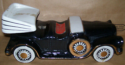 Paul Lux 1932 Pierce Arrow Car OBR Whiskey Decanter Liquor Bottle Empty