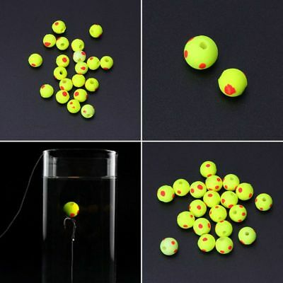 20pcs/Set EVA Beads Float Carp Fishing Tackle Ball Double Color Rig Lure 10/12mm