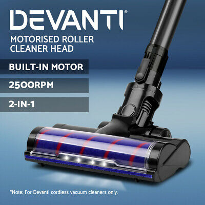 Replacement Motorised Vacuum Cleaner Roller Head Floor Tool - Devanti 120W/150W